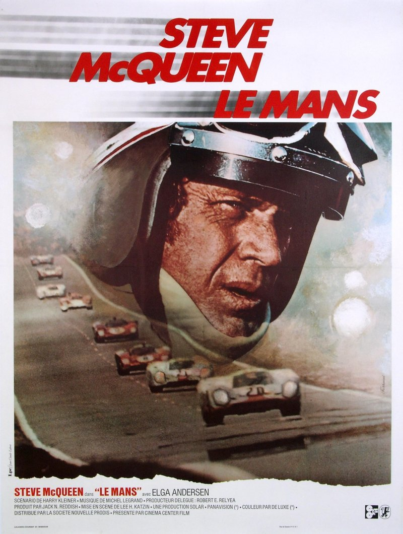 car art blog steve mcqueen le mans poster. Black Bedroom Furniture Sets. Home Design Ideas