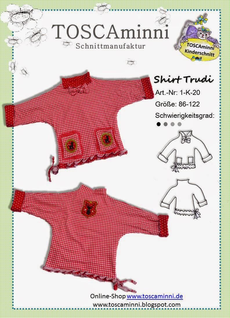 Kindershirt Trudi Gr. 86-122
