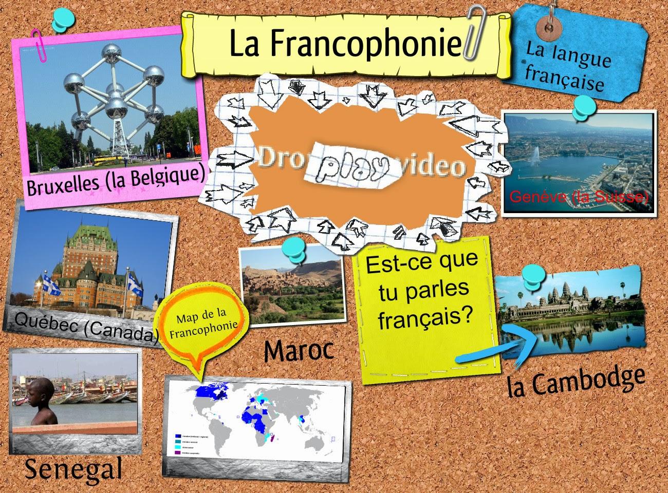 Le français dans le monde!