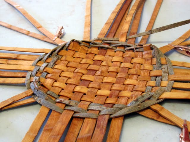 How To Weave A Cat Basket : Island weavings a cat s head basket