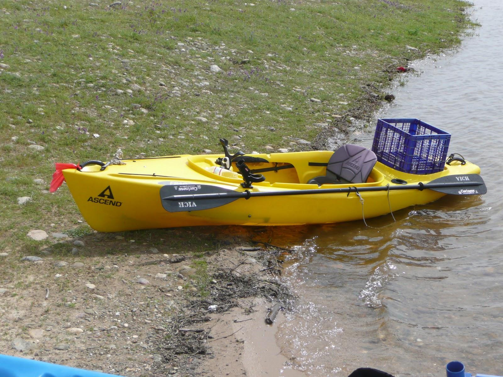 Ascend fs10 fishing kayak reviews wroc awski informator for Fishing kayak review