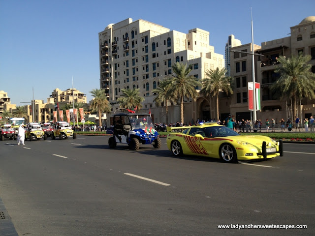 Luxury car dubai Parade