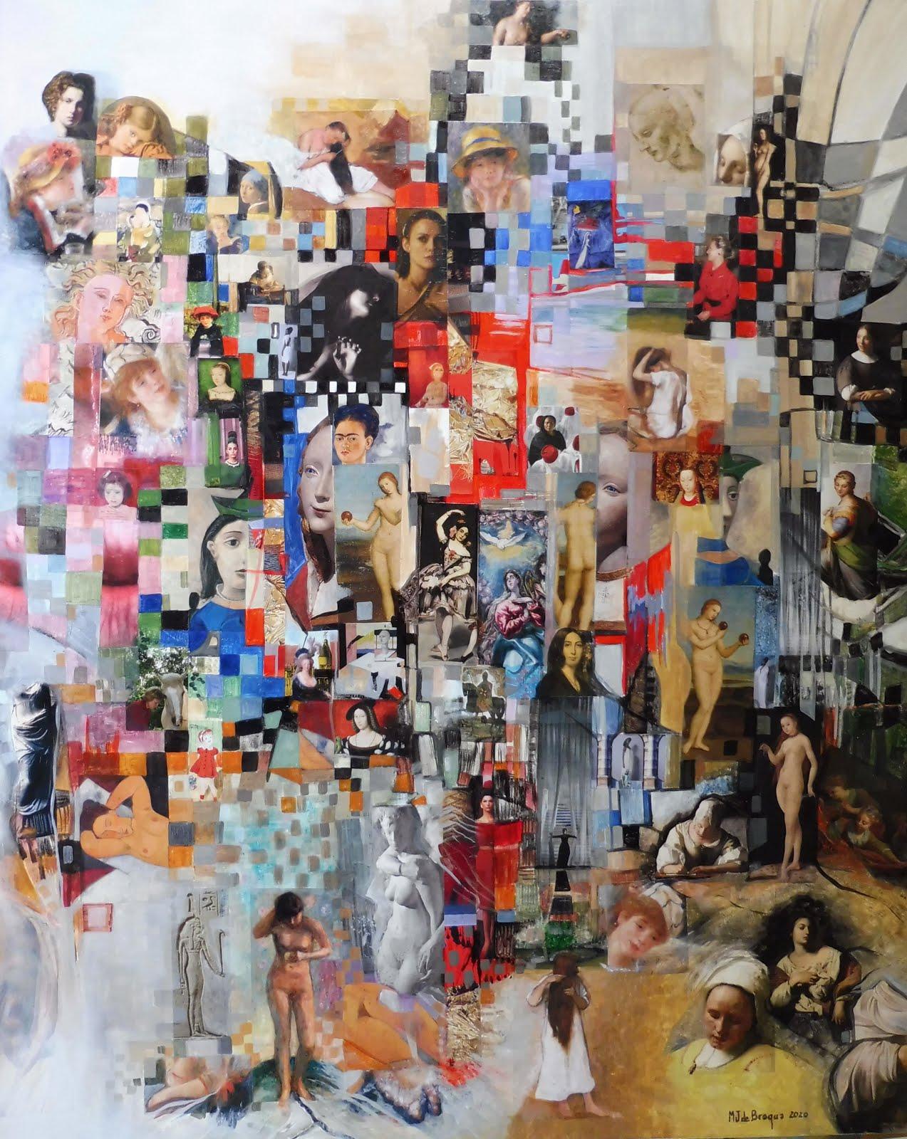 Parfums de femmes - 73 x 92 cm - 2020
