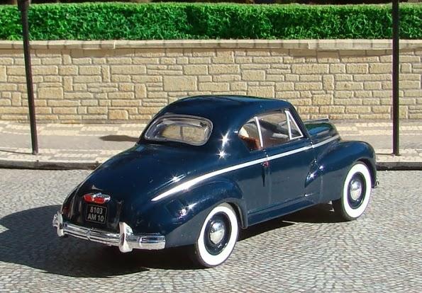 cruiser cl sicos en escala 1 43 peugeot 203 coupe 1952. Black Bedroom Furniture Sets. Home Design Ideas