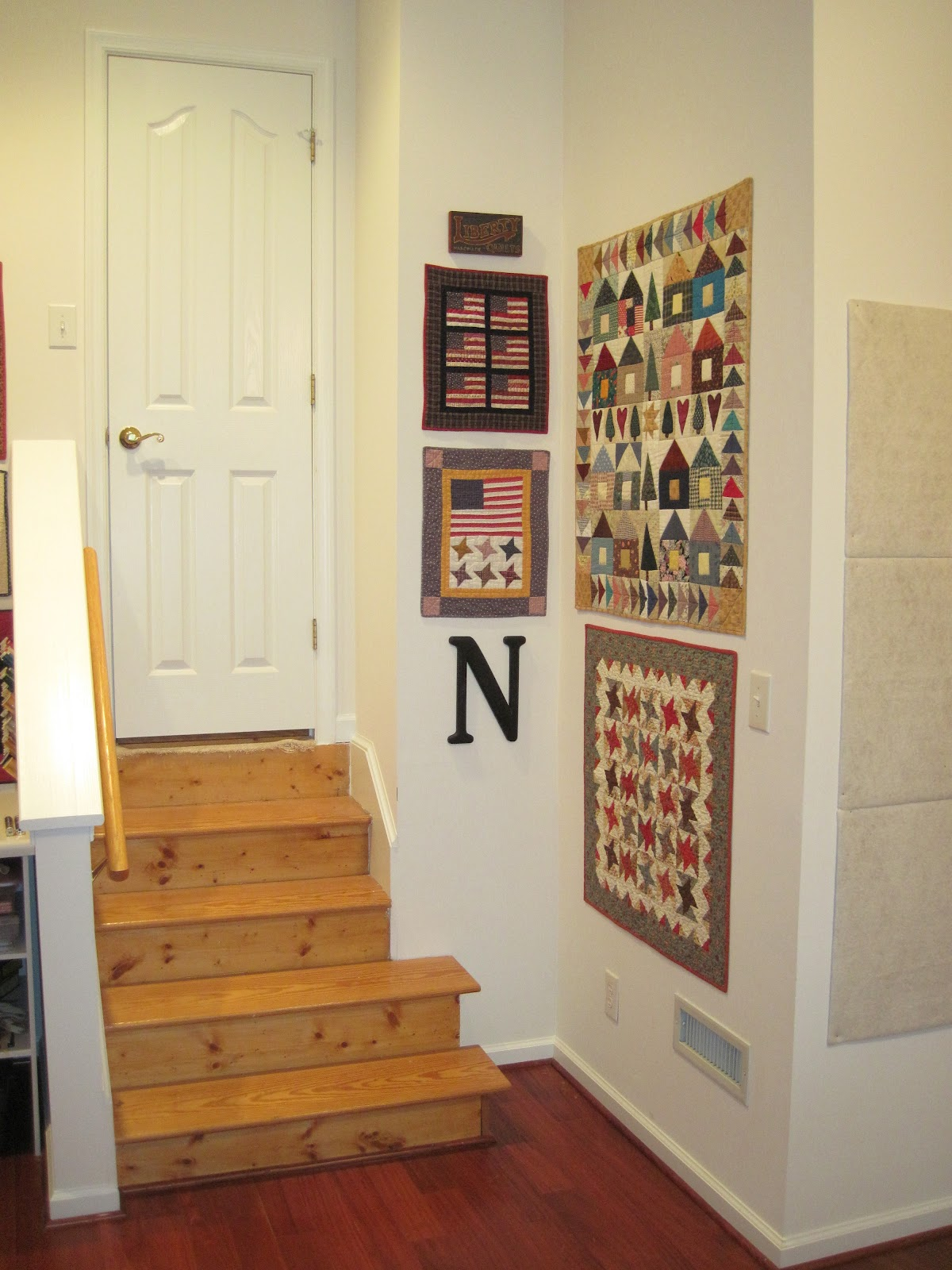 The Patriotic Quilter Its Here My New Quilting Room Reveal