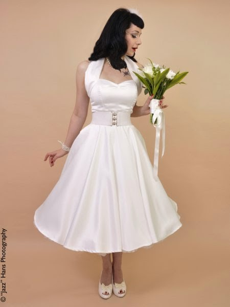 Vivien of Holloway Fifties Wedding Dress - Affordable 1950s Wedding Dresses