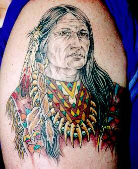 Native American Tattoo Design Picture Gallery - Native American Tattoo Ideas