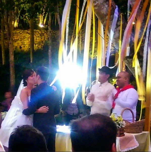 Photos: Neri Naig and Chito Miranda Wedding in Tagaytay
