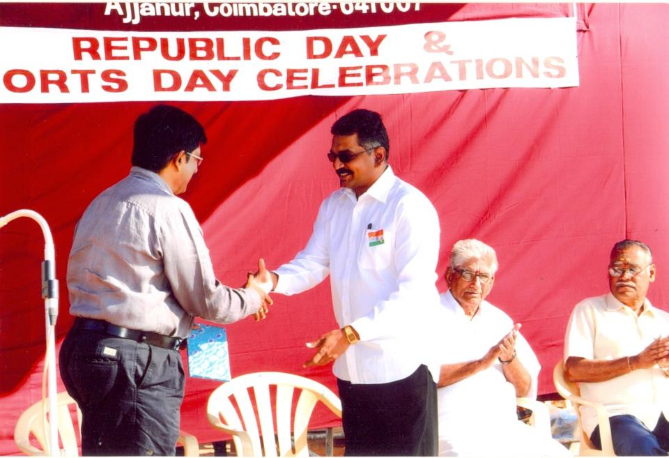 Kumar brand consultant as a chief guest at a republic for Brand consultant