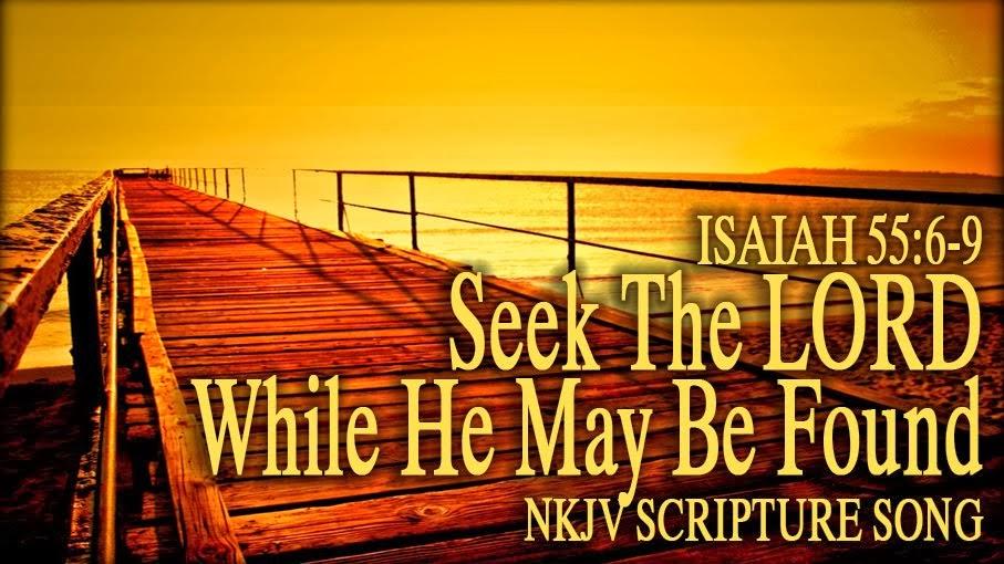 Isaiah 55:6-9