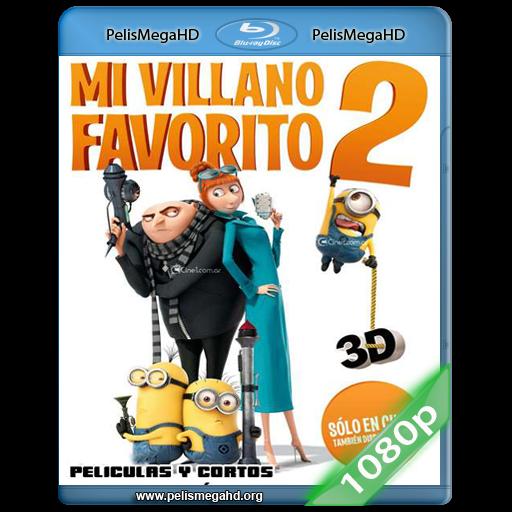 MI VILLANO FAVORITO 2 (2013) 1080P HD MKV ESPAÑOL LATINO