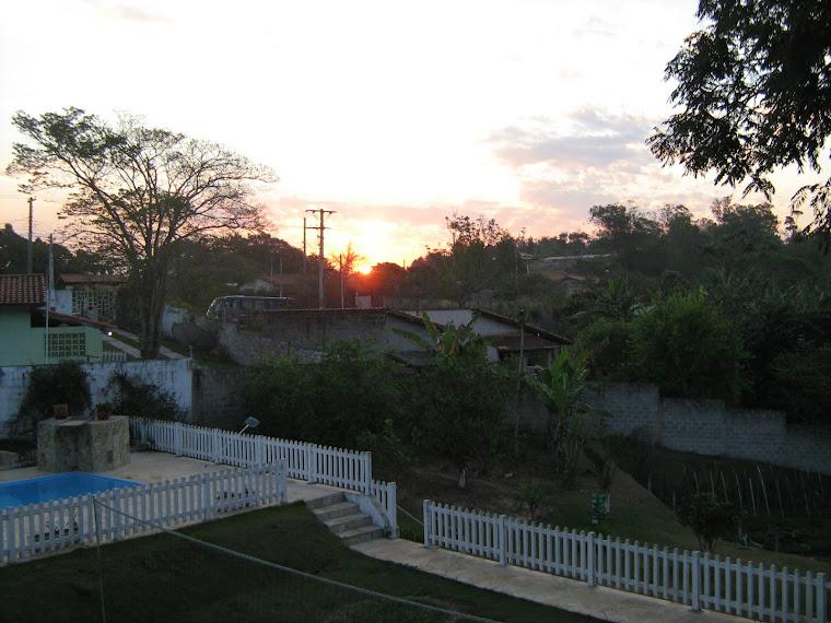 Pôr do Sol do dia 17/08/2011