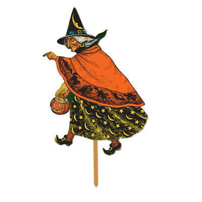 Classic Witch Design with Stake