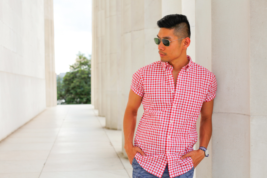 #WhereUNIQLO Levitate Style Washington DC | Summer Style Travel feat. Uniqlo, Daniel Wellington, Lincoln Memorial, Menswear