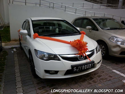 Honda Civic FD Wedding Car