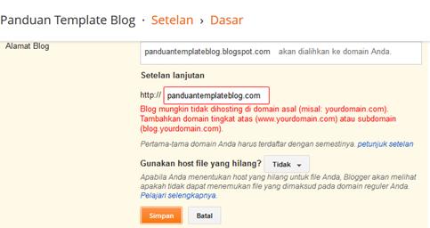 Custom Blogspot