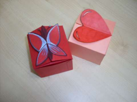 This Is Made By Using Cardboard And Self Coloring Of The Love Butterfly Shapes Its Rather Easy That Even Children Can Do