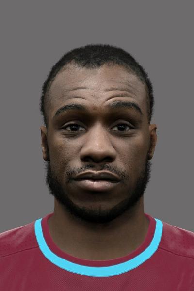 Michail Antonio PES 2016 Face