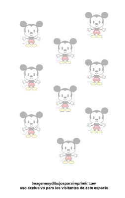 Papel de mickey mouse