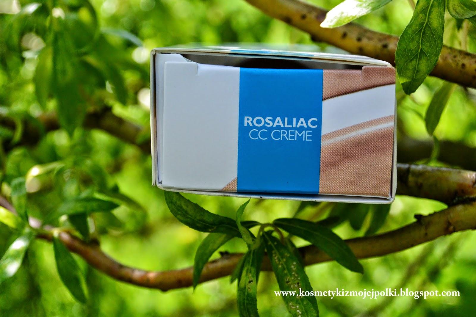 LA ROCHE POSAY ROSALIAC CC CREAM - to z pewnością będzie jego LATO
