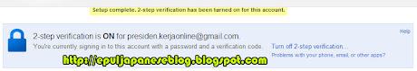 Cara Meningkatkan Keamanan Email, Blog dan Akun Google dari Hacker 3