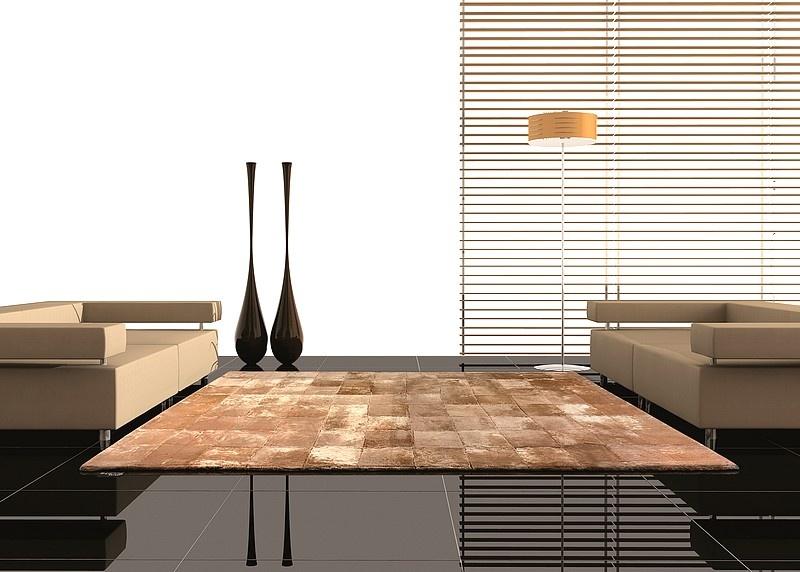 Como Colocar Tapete Na Sala De Tv ~  ser o tapete de couro,para colocar na sala de estar, jantar ou de Tv