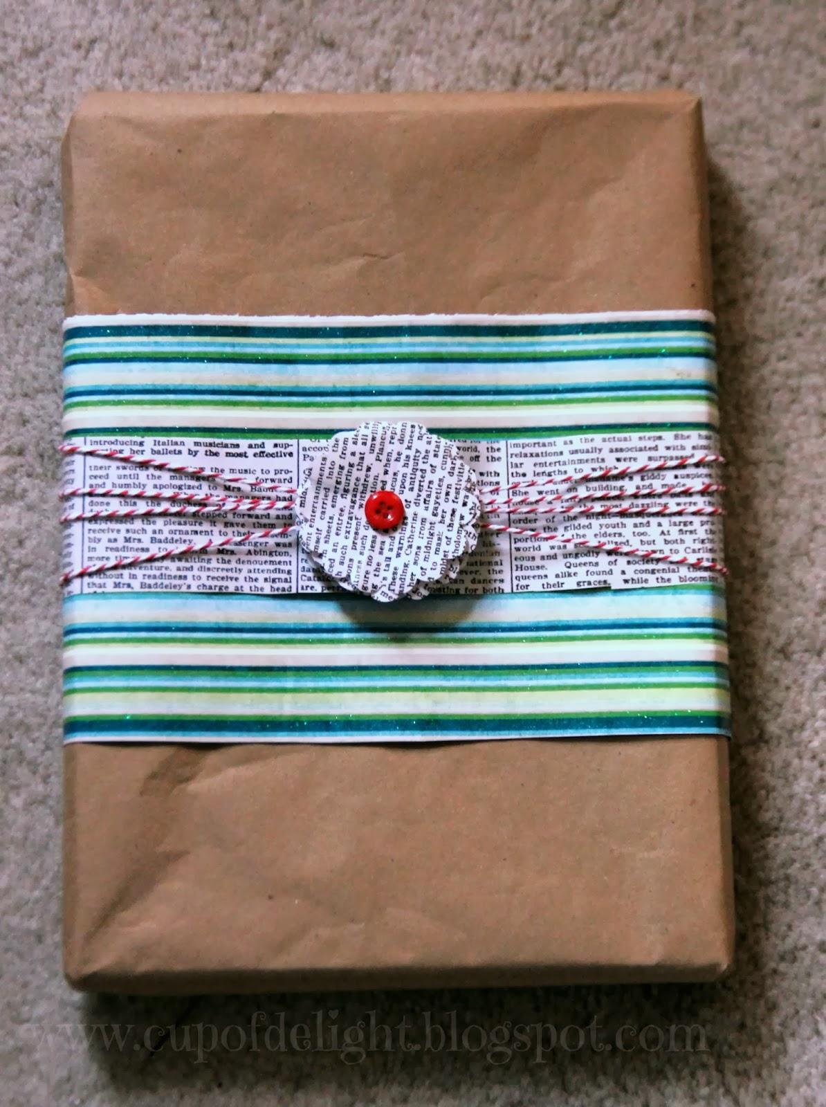 inexpensive giftwrap