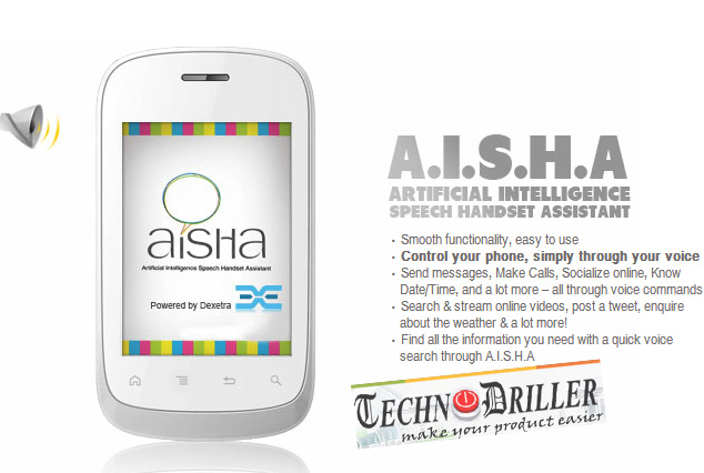 Aisha - Samsung S-Voice alternative review
