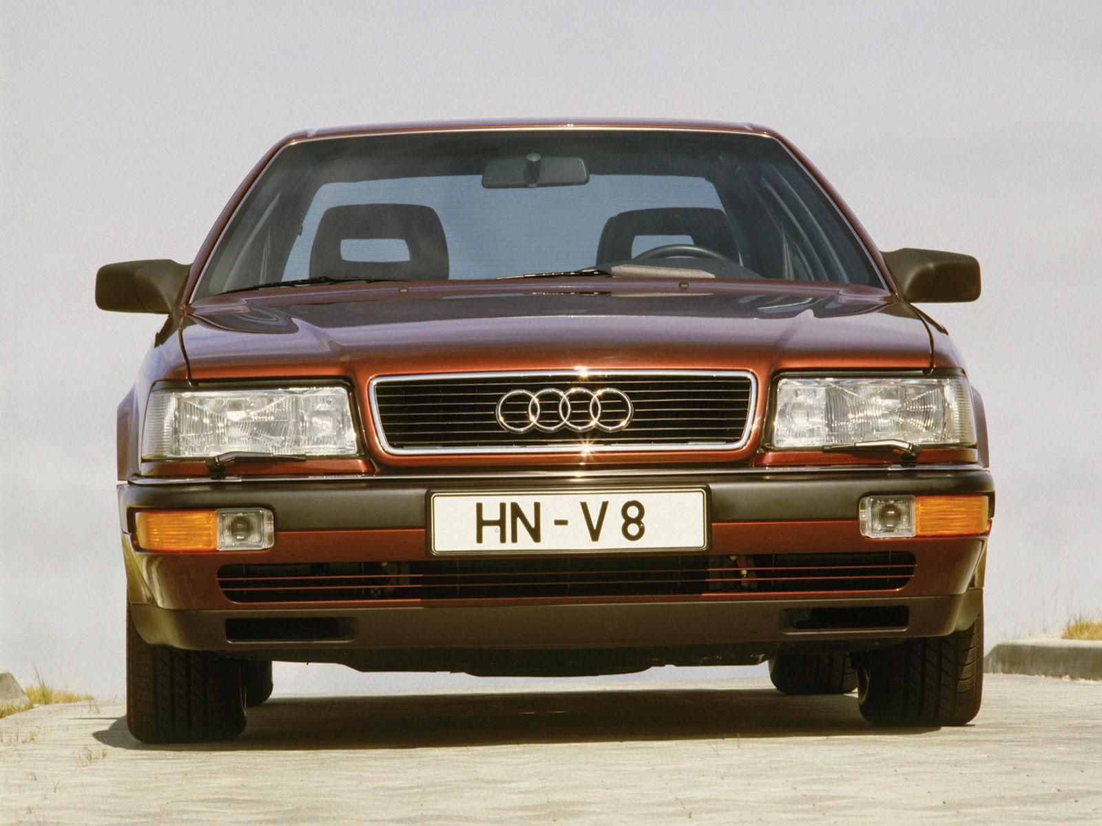 Automotive Database Audi V - Audi v8