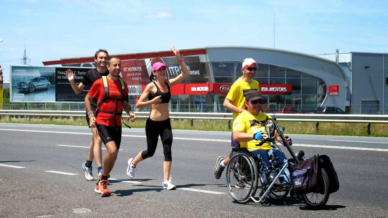 Cum am alergat 61,5 km alături de Vasile Stoica pe traseul Timişoara - Lugoj. Când visele devin realitate