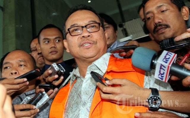 Alhamdulillah Telah Ditahan KPK, Pelaku Intelektual Illegal Logging di Provinsi Riau Rusli Zainal