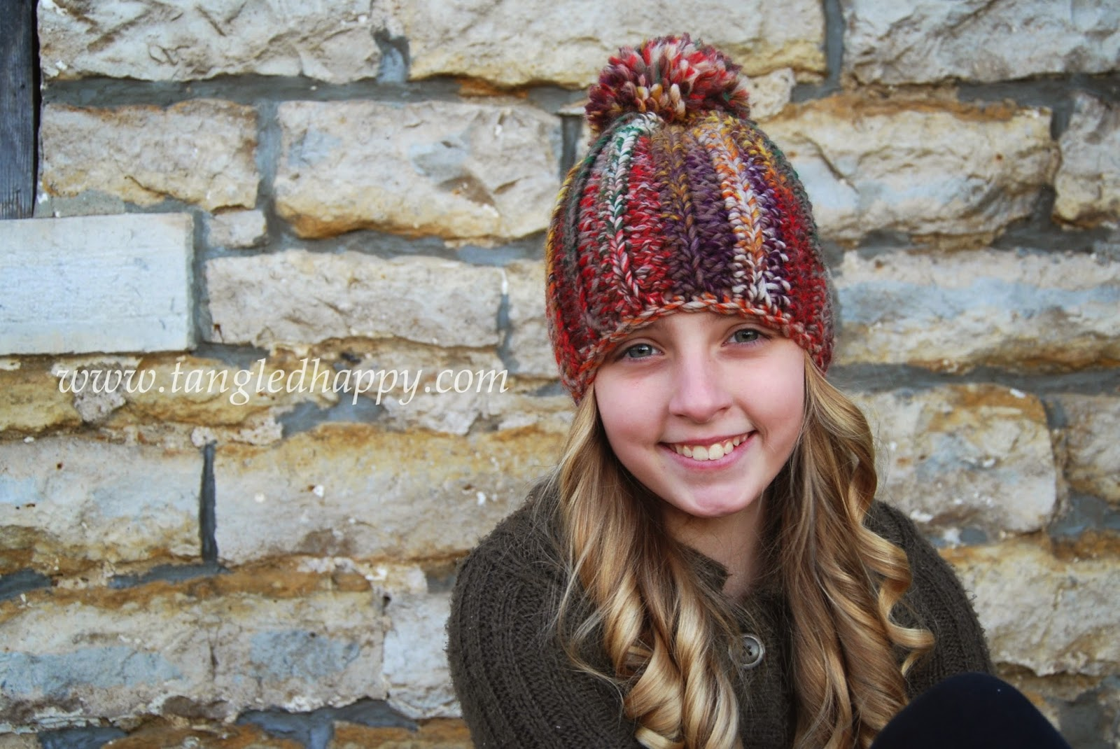 Tangled happy color wool beanie free crochet pattern color wool beanie free crochet pattern dt1010fo