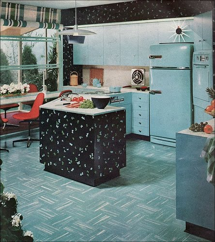 Retro Kitchen Design You Never Seen Before: Vintage Clothing Love: Vintage Kitchen Colors