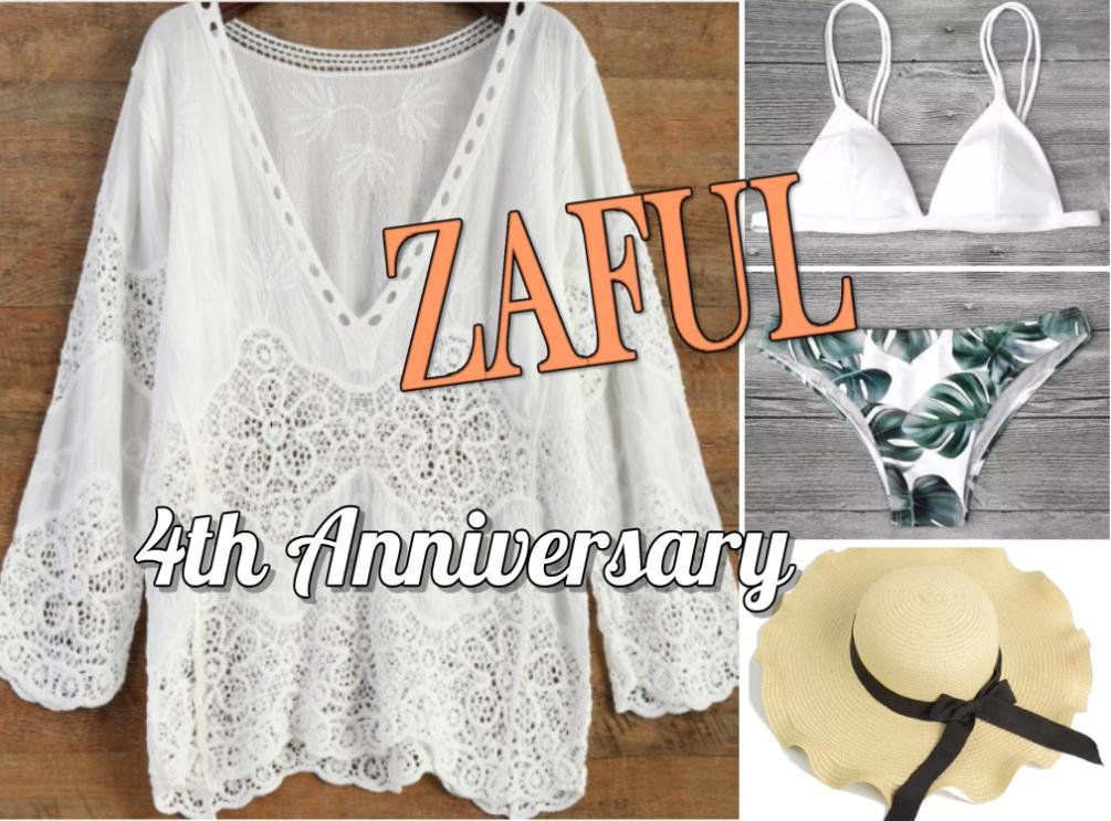 4º aniversario da loja Zaful