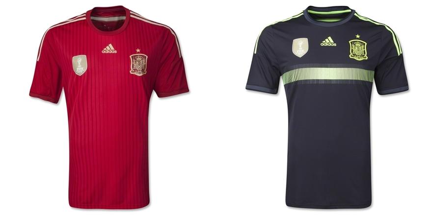 Spanyol - Jersey Grade Ori Piala Dunia 2014