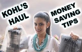 Kohl's Haul & Ebates money saving tips | With Love Sindhu