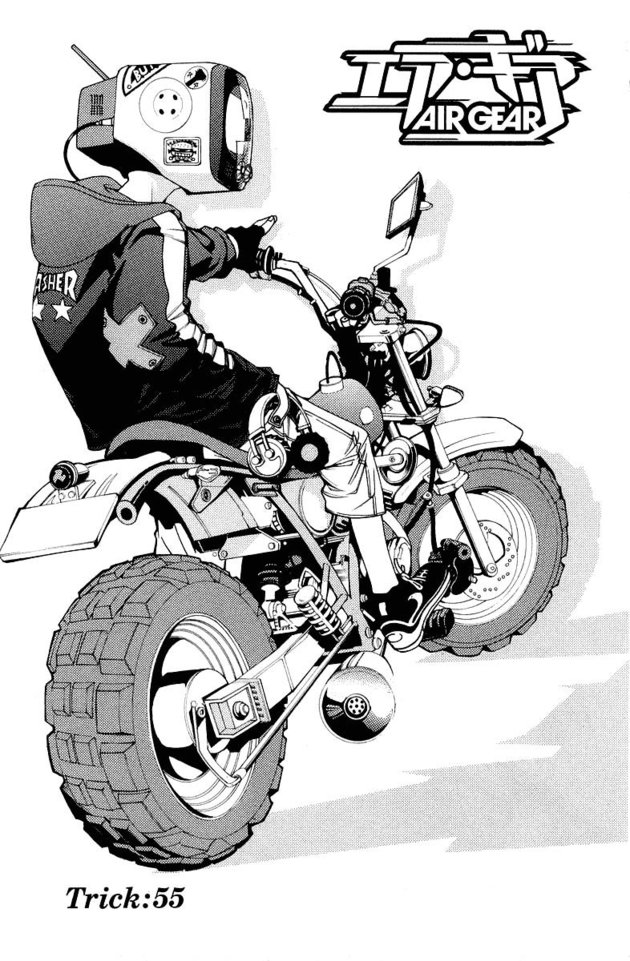 Air Gear Chap 055
