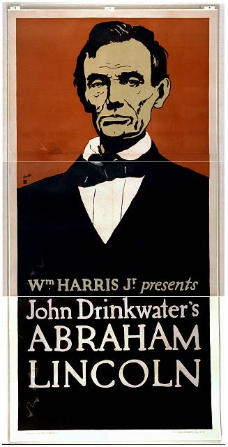 John Drink waters Abraham Lincoln public domain image