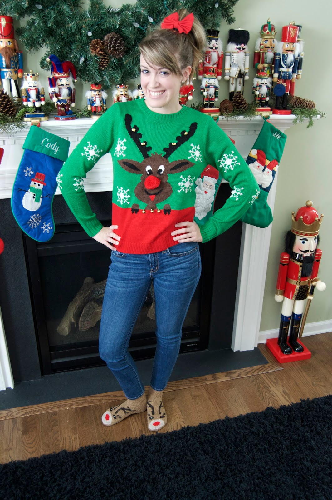 Dress In Sparkles The Not So Ugly Christmas Sweater