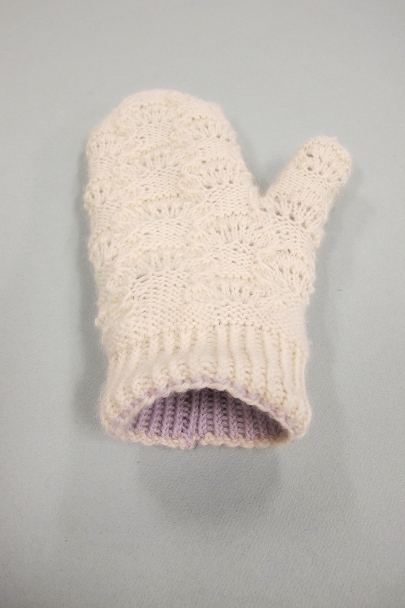 Cloud Mittens Pattern part 2 - the Lining.