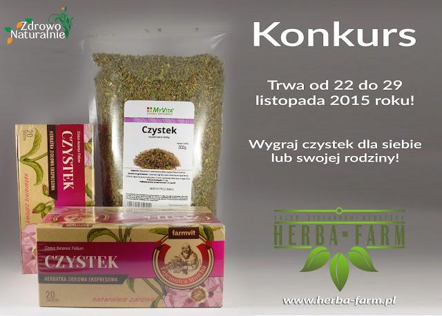 Wygraj czystek dla siebie lub swojej rodziny ze sklepem Herba-Farm.pl