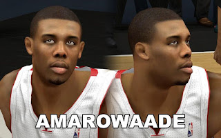 NBA 2K13 Norris Cole Cyber Face Patch