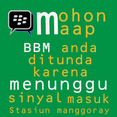 Dp BBM sinyal lemot abis - Everythinglearning