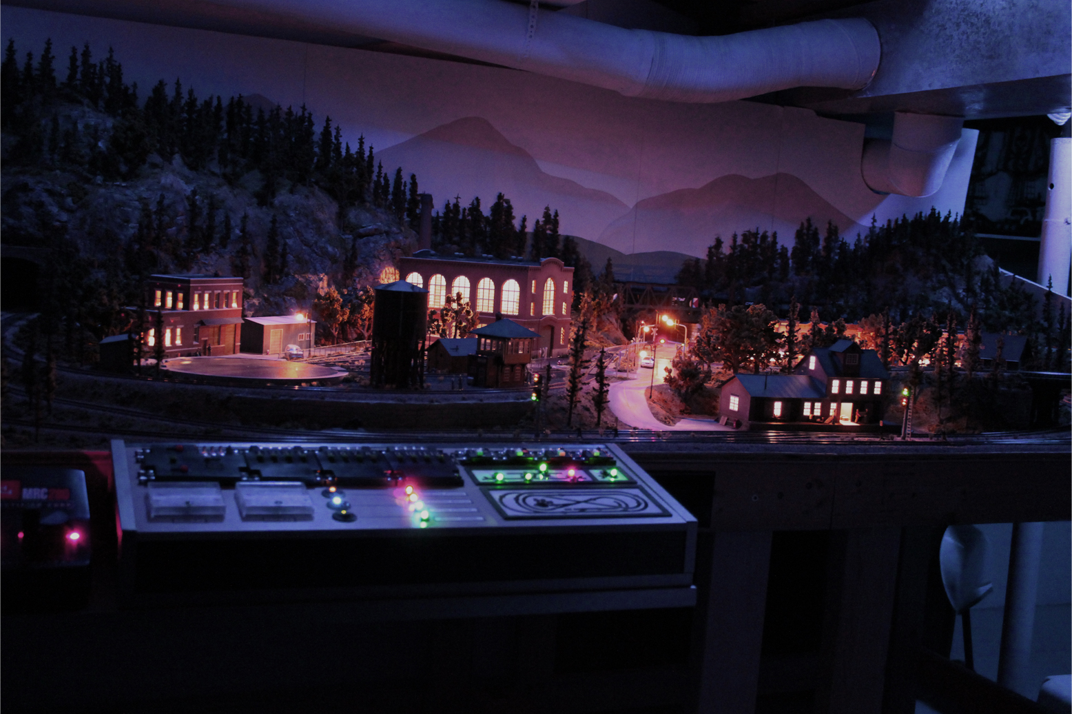 Tys Model Railroad Lighting Day Night More Train Circuits Led Flashing Lights Models Hobby Overview Of My Layout In Mode