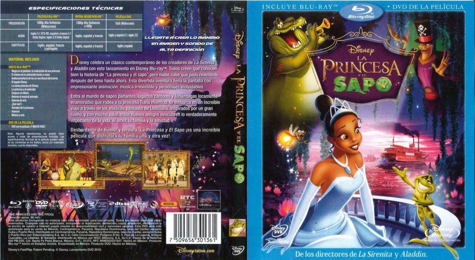BLR  La Princesa y El Sapo  Clsico N 49  Disney  Pelculas