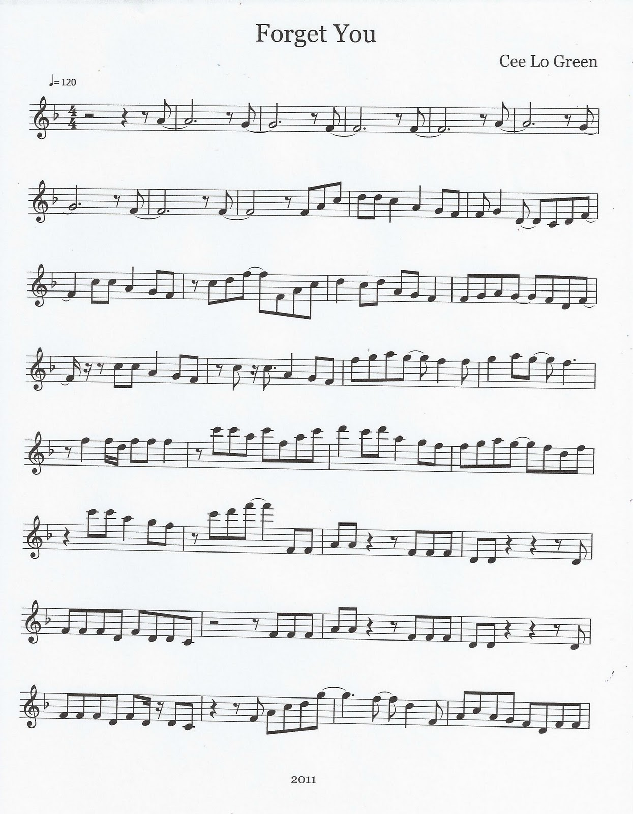 river flows in you flute sheet music