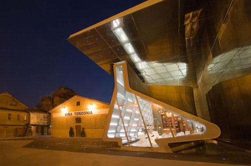Tondonia Winery by Zaha Hadid