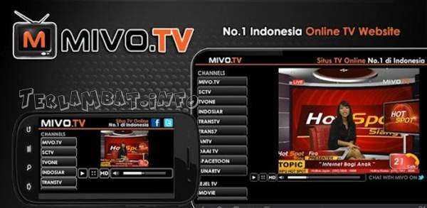 Streaming TV Lewat HP