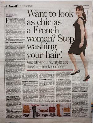 French women skincare