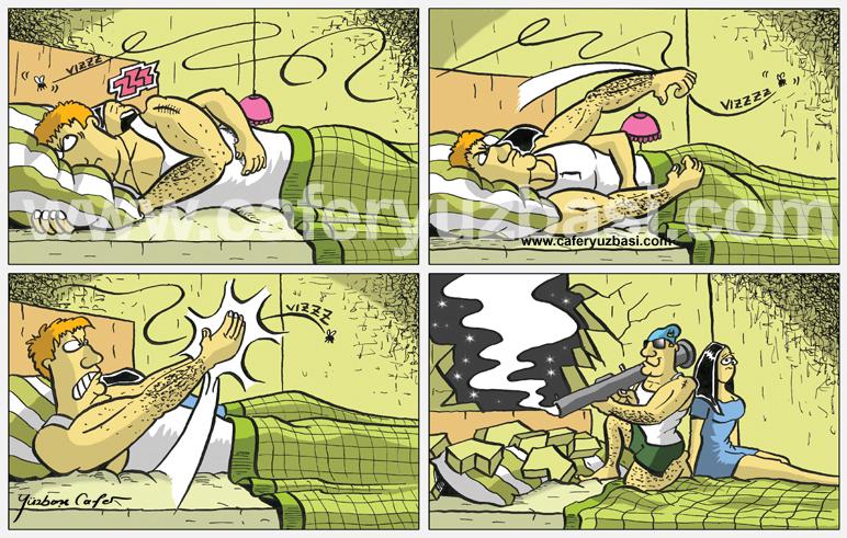 sivrisinek savaşi-Yüzbaşi Cafer
